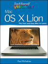 Teach Yourself VISUALLY Mac OS X Lion (eBook)
