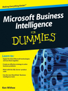Microsoft Business Intelligence For Dummies (eBook)