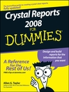 Crystal Reports 2008 For Dummies (eBook)