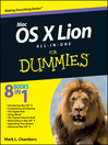 Mac OS X Lion All-in-One For Dummies (eBook)