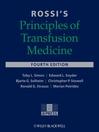 Rossi's Principles of Transfusion Medicine (eBook)