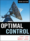 Optimal Control (eBook)