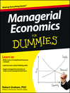 Managerial Economics For Dummies (eBook)