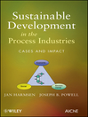 Sustainable Development in the Process Industries (eBook): Cases and Impact