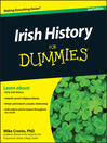 Irish History For Dummies (eBook)