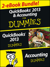 QuickBooks 2013 & Accounting For Dummies eBook Set (eBook)