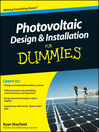 Photovoltaic Design and Installation For Dummies (eBook)