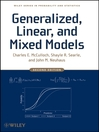 Generalized, Linear, and Mixed Models (eBook)