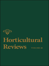 Horticultural Reviews (eBook)