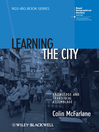 Learning the City (eBook): Knowledge and Translocal Assemblage