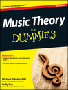 Cover image of Music Theory For Dummies