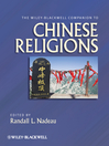 The Wiley-Blackwell Companion to Chinese Religions (eBook)