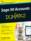 Sage 50 Accounts For Dummies, UK Edition (eBook)