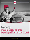 Beginning Mobile Application Development in the Cloud (eBook)