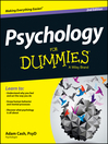 Psychology For Dummies (eBook)