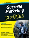 Guerrilla Marketing For Dummies® (eBook)