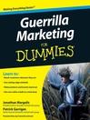 Guerrilla Marketing For Dummies® (eBook)