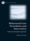 Behavioral Case Formulation and Intervention