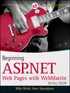 Beginning ASP.NET Web Pages with WebMatrix (eBook)