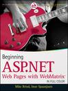 Beginning ASP.NET Web Pages with WebMatrix (eBook)