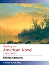 Reading the American Novel 1780--1865 (eBook)