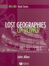 Lost Geographies of Power (eBook)
