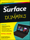 Surface For Dummies (eBook)