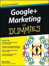 Google+ Marketing For Dummies (eBook)