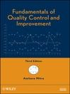 Fundamentals of Quality Control and Improvement (eBook)