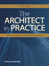 The Architect in Practice (eBook)