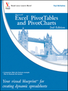 Excel PivotTables and PivotCharts (eBook): Your visual blueprint for creating dynamic spreadsheets