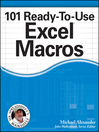 101 Ready-To-Use Excel Macros (eBook)