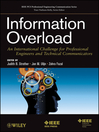 Information Overload (eBook): An International Challenge for Professional Engineers and Technical Communicators