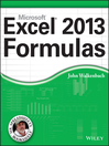 Excel 2013 Formulas (eBook)