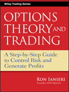 Option Theory and Trading (eBook): A Step-by-Step Guide To Control Risk and Generate Profits