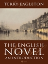 The English Novel (eBook): An Introduction