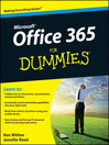 Office 365 For Dummies (eBook)