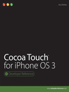 Cocoa Touch for iPhone OS 3 (eBook)