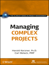 Managing Complex Projects (eBook)