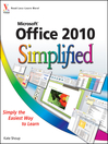 Office 2010 Simplified (eBook)