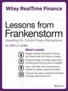 Lessons from Frankenstorm (eBook): Investing for Future Power Disruptions