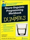 Neuro-Linguistic Programming Workbook For Dummies (eBook)