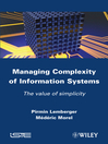 Managing Complexity of Information Systems (eBook): The Value of Simplicity