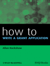 How to Write a Grant Application (eBook)