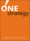 One Strategy (eBook): Organization, Planning, and Decision Making
