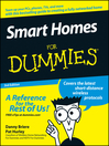 Smart Homes For Dummies (eBook)