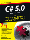 C# 5.0 All-in-One For Dummies (eBook)