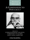 A Companion to Foucault (eBook)