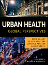Urban Health (eBook): Global Perspectives