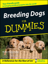 Breeding Dogs For Dummies (eBook)